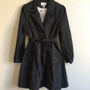 H&M all weather trench coat jacket plus size 14